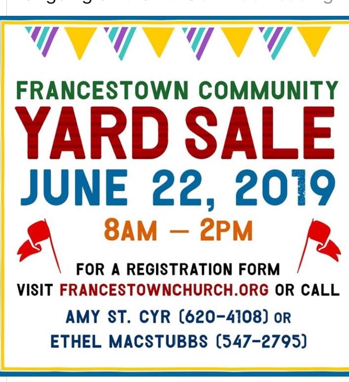 Town-Wide Yard Sales, Golf Tournament, And More: Milford Calendar