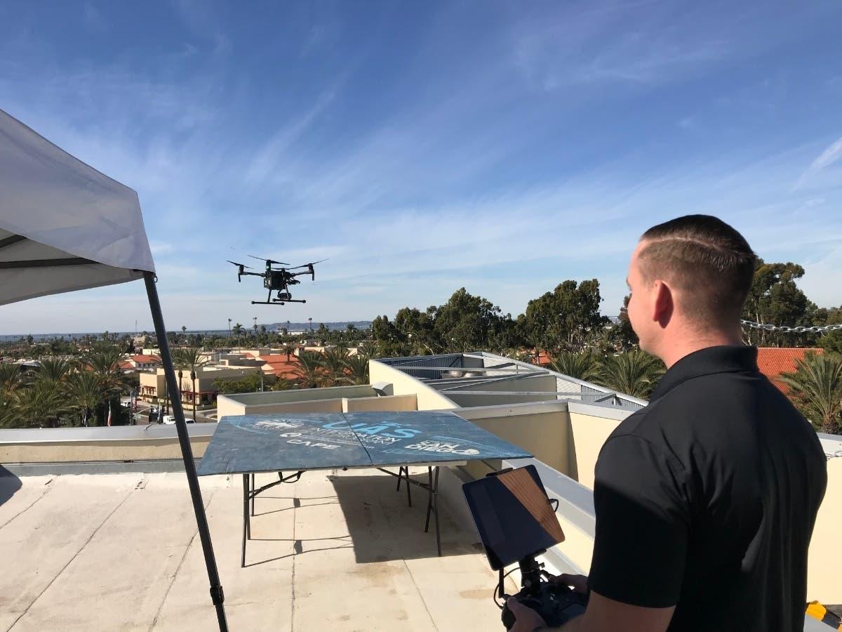 Chula Vista 911 Drone Cops Test Pilot Emergency Response In Sky