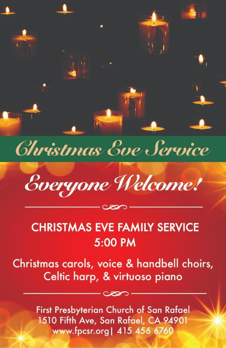 Dec 24 | Christmas Eve Service at First Presbyterian Church