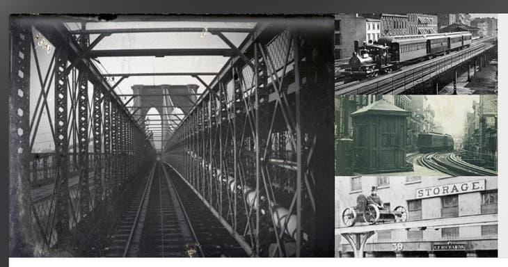 The Ghosts of New York City's Elevated Railroads Interactive Webi