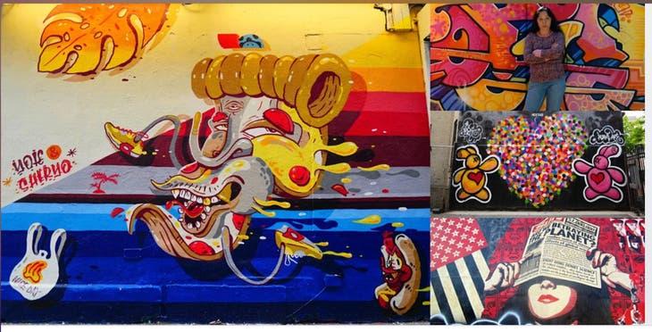À la découverte du grand street art et des artistes de NYC Interactive Webi