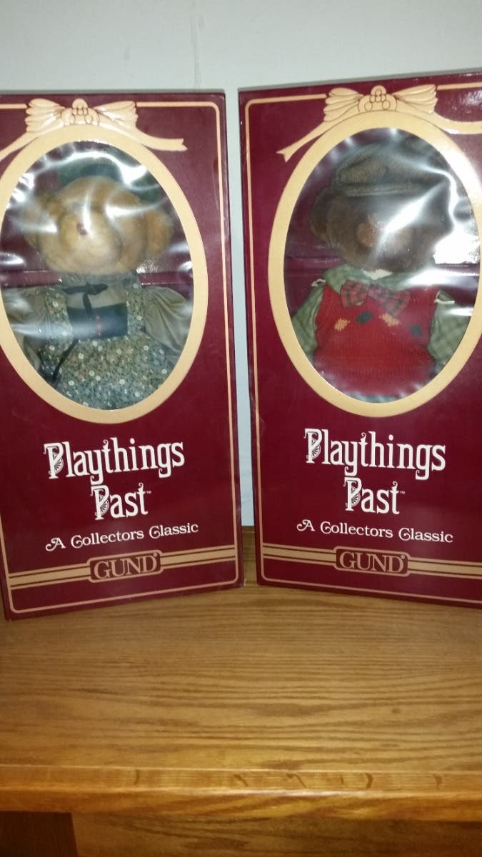 Gund Playthings Past Collectors Classic Bears