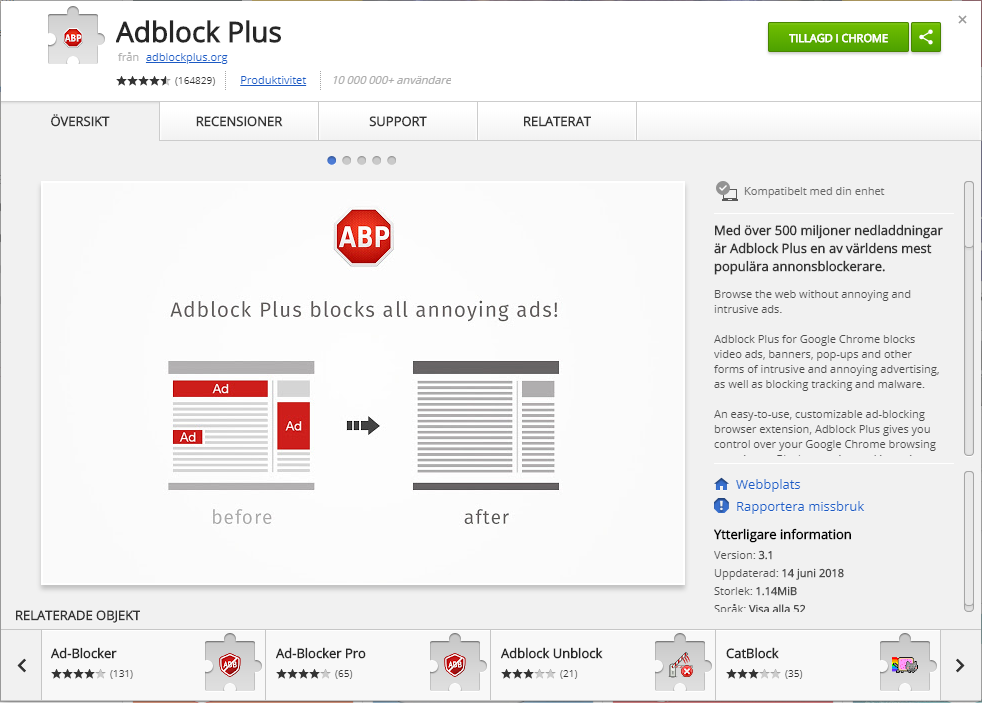 Aug 26 | Three Best Ad Blockers For Google Chrome 2019