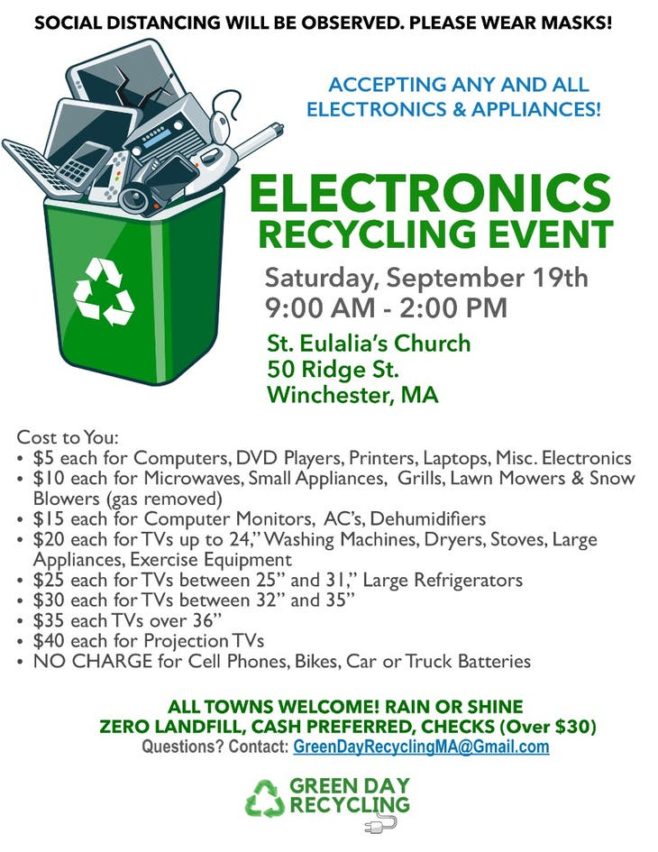Winchester Electronics Recycling Event