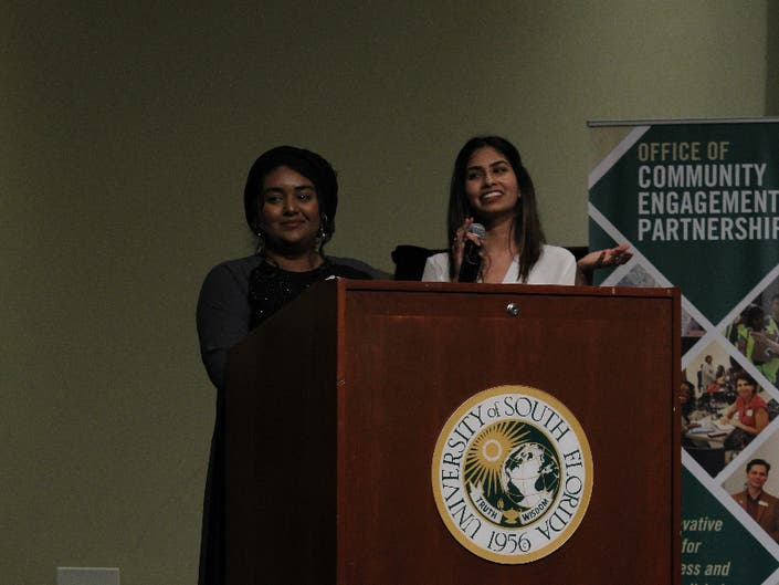 USF Students Host Human Trafficking Conference