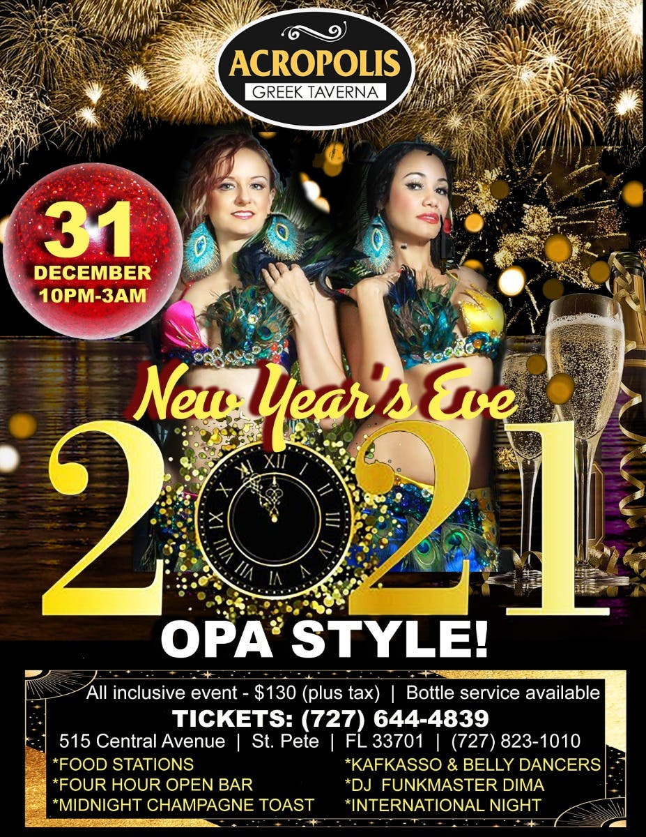 Dec 31 | International New Year's Eve Celebration! | St. Pete, FL Patch