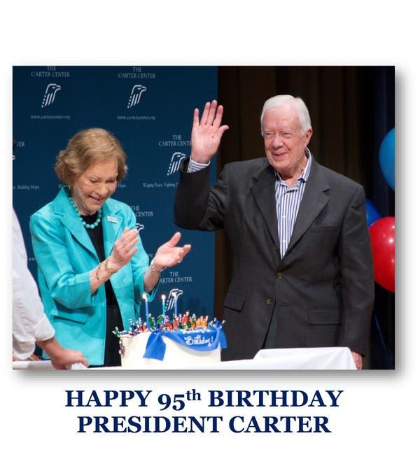Jimmy Carter 95th Birthday