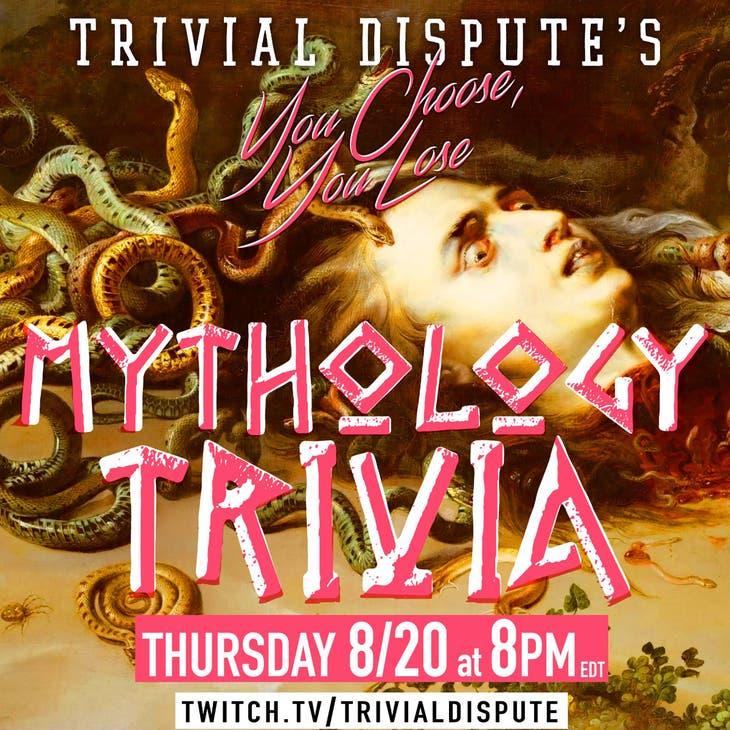 Mythology Trivia by Trivial Dispute