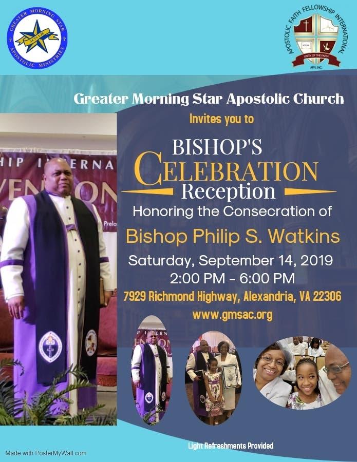 Sep 14 | Celebrating Bishop Philip S  Watkins, Consecration