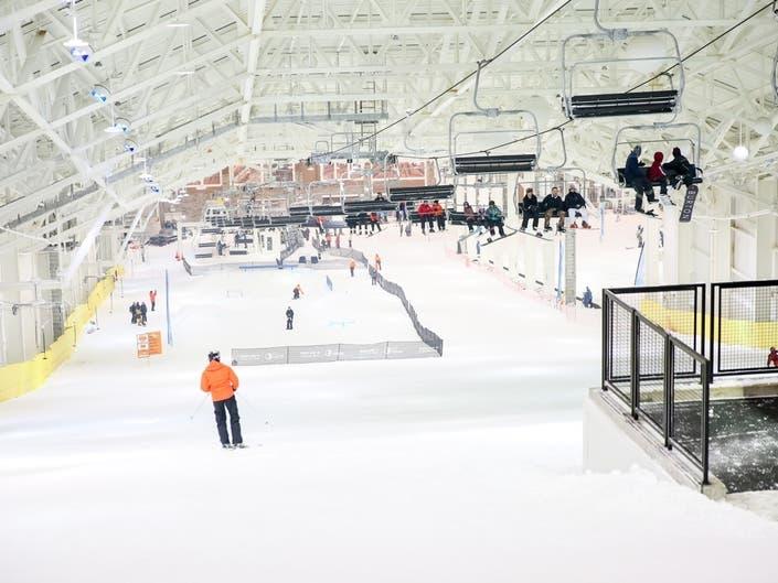 A Look Inside American Dreams Indoor Ski & Snowboard Park