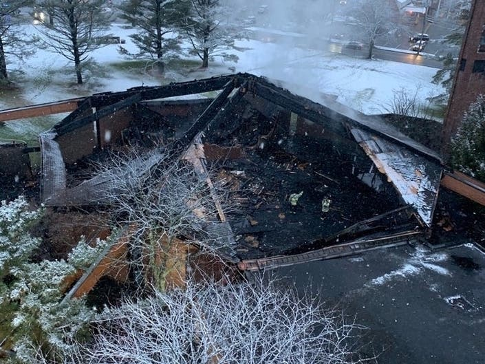 Efforts Planned To Help Franklin Lakes Church Rebuild After Fire