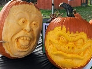 Wilmington Artist Takes Pumpkin Carving To New Level