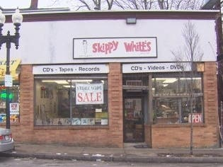 Legendary Record Shop Skippy Whites Closing After 59 Years In Boston