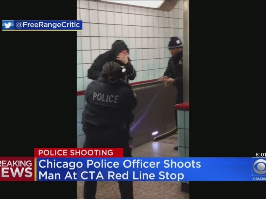 Chicago Police Shoot Man At Red Line Station During Rush Hour