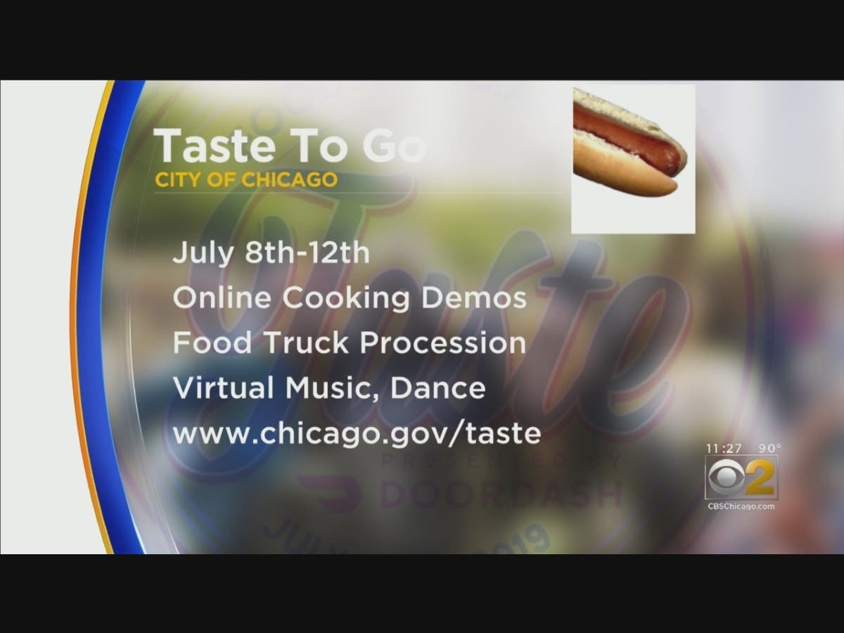 City Offering 'Taste Of Chicago To Go'