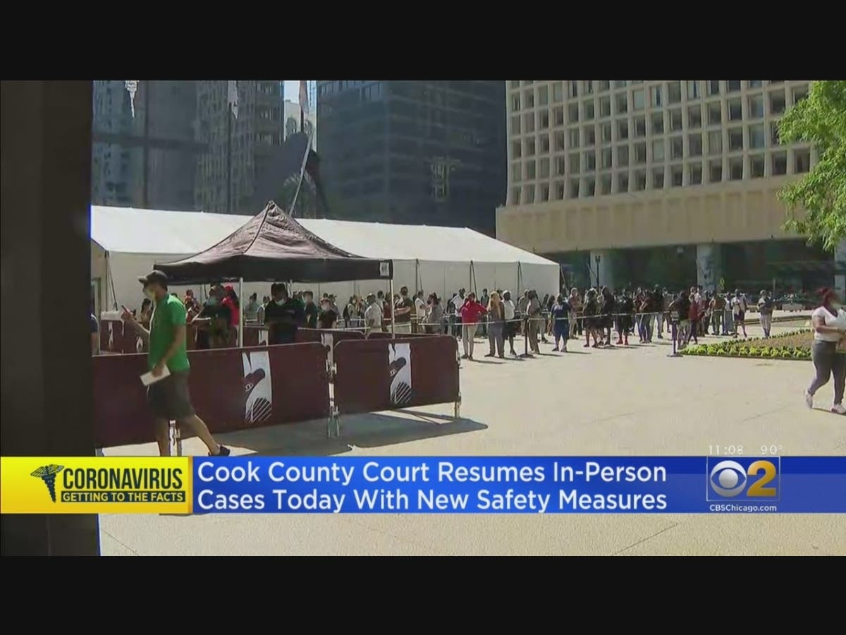 Cook County Courts Back In Session