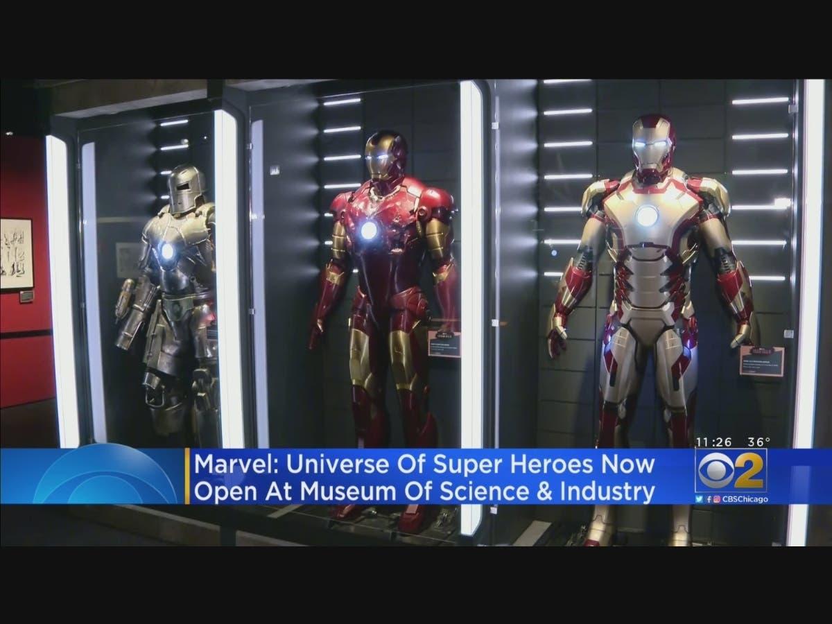 Marvel: Universe Of Super Heroes Exhibit Now Open