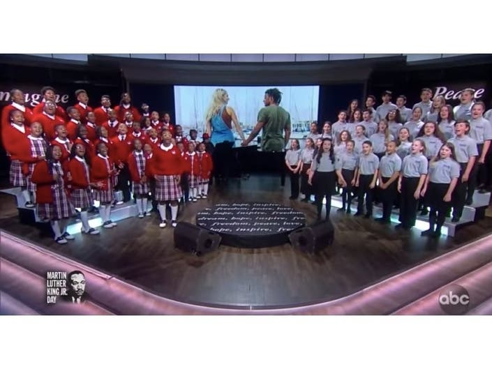 2 Baltimore Choirs Perform On National TV For MLK Jr. Day