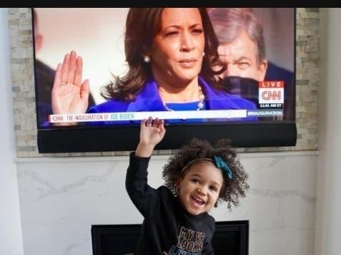 Daughter Of Former Raven Celebrates New VP Kamala Harris