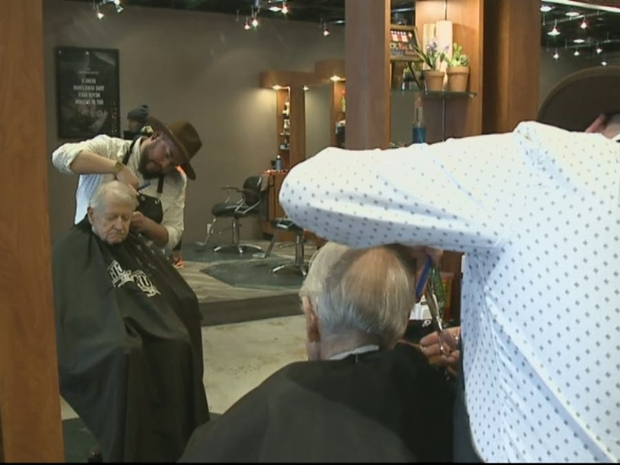 Barbers In Denver Offer Free Haircuts To Veterans To Offer Thanks Denver Co Patch
