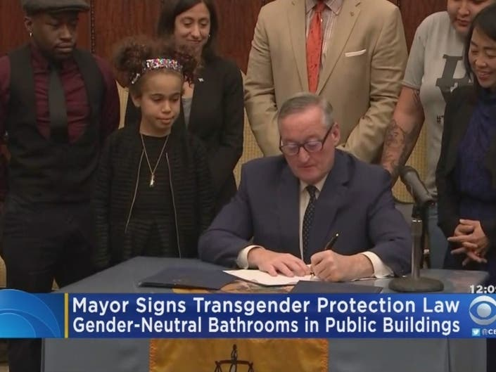 Kenney Signs Transgender, Non-Binary Protection Law