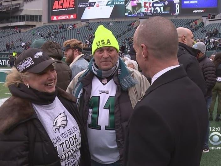 Eagles Fan Given Kidney By Patriots Fan Attends Game, Meets Wentz