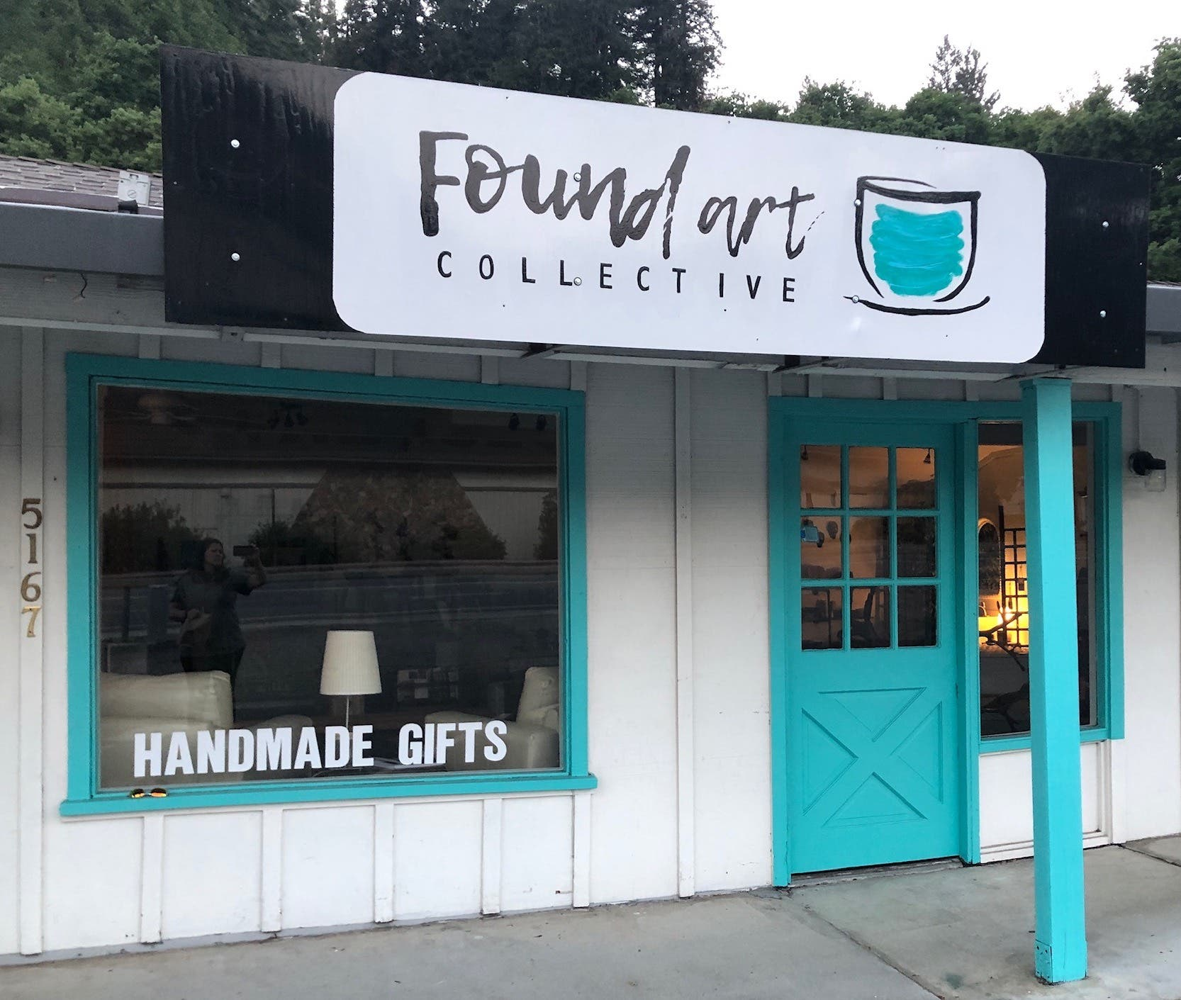 Found Art Collective Ribbon Cutting