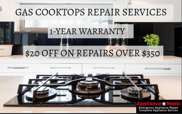 Kitchenaid Appliance Repair Near Me Gas Cooktops Repair