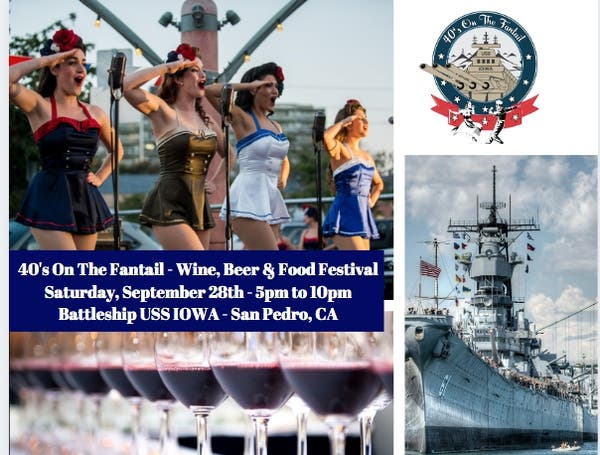 Sep 28 | 40's On The Fantail - Wine, Beer & Food Festival