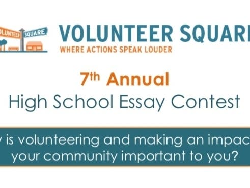 volunteer square launches th annual high school essay