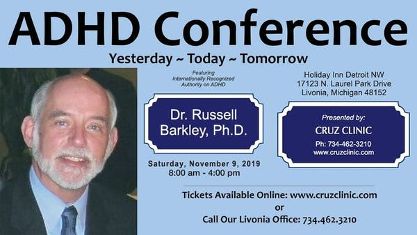 ADHD Conference With Dr. Russell Barkley, Ph.D.