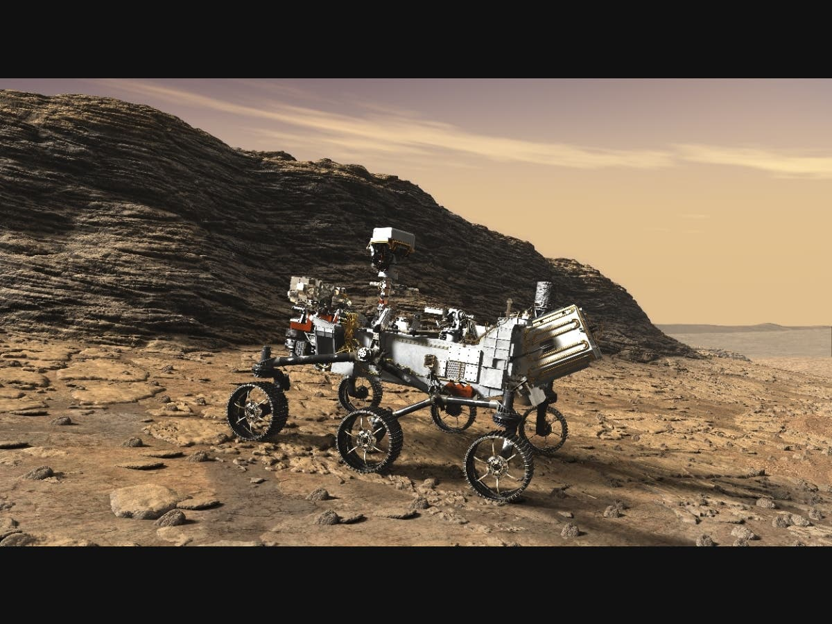 Watch: ​Perseverance Rover's Mars Landing Live Streamed