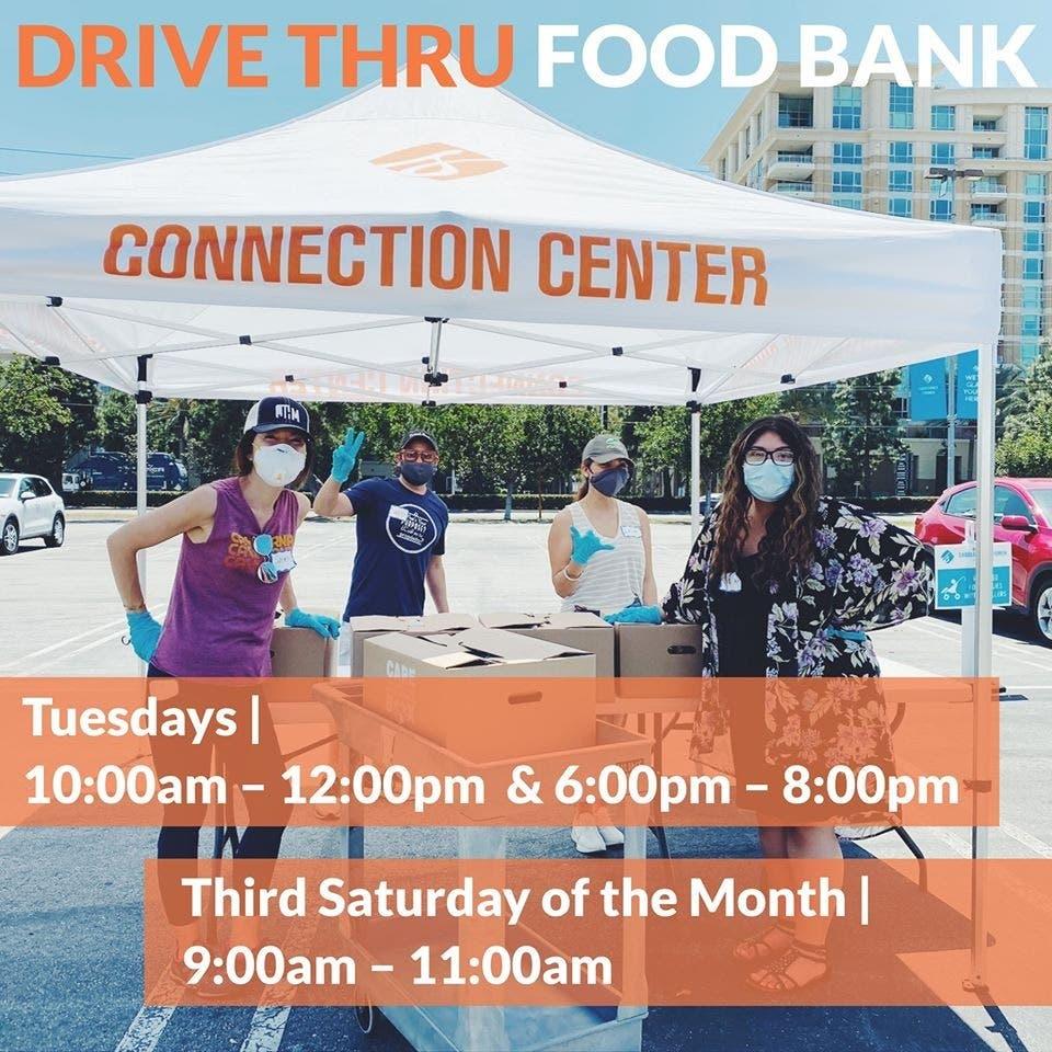 Drive thru Food Bank Tuesdays in Irvine