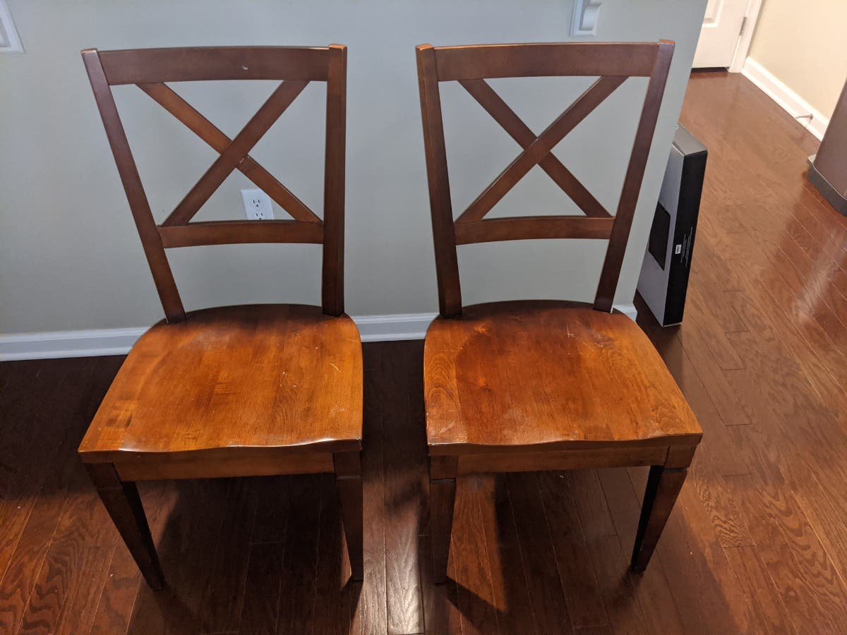 Ethan Allen Dining Chairs 4 225 East Hanover Nj Patch