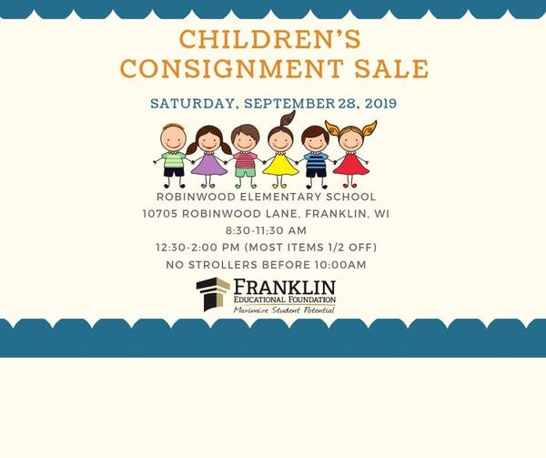 Children's Consignment Sale-September 28th - Waukesha, WI Patch