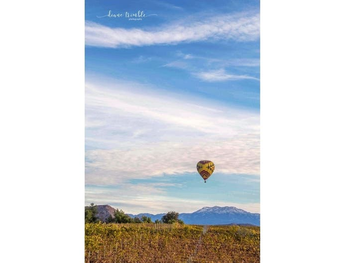 Rising Balloon: Temecula Photo Of The Week