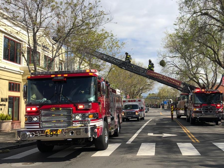 Fire Damages Downtown Pleasanton Restaurant