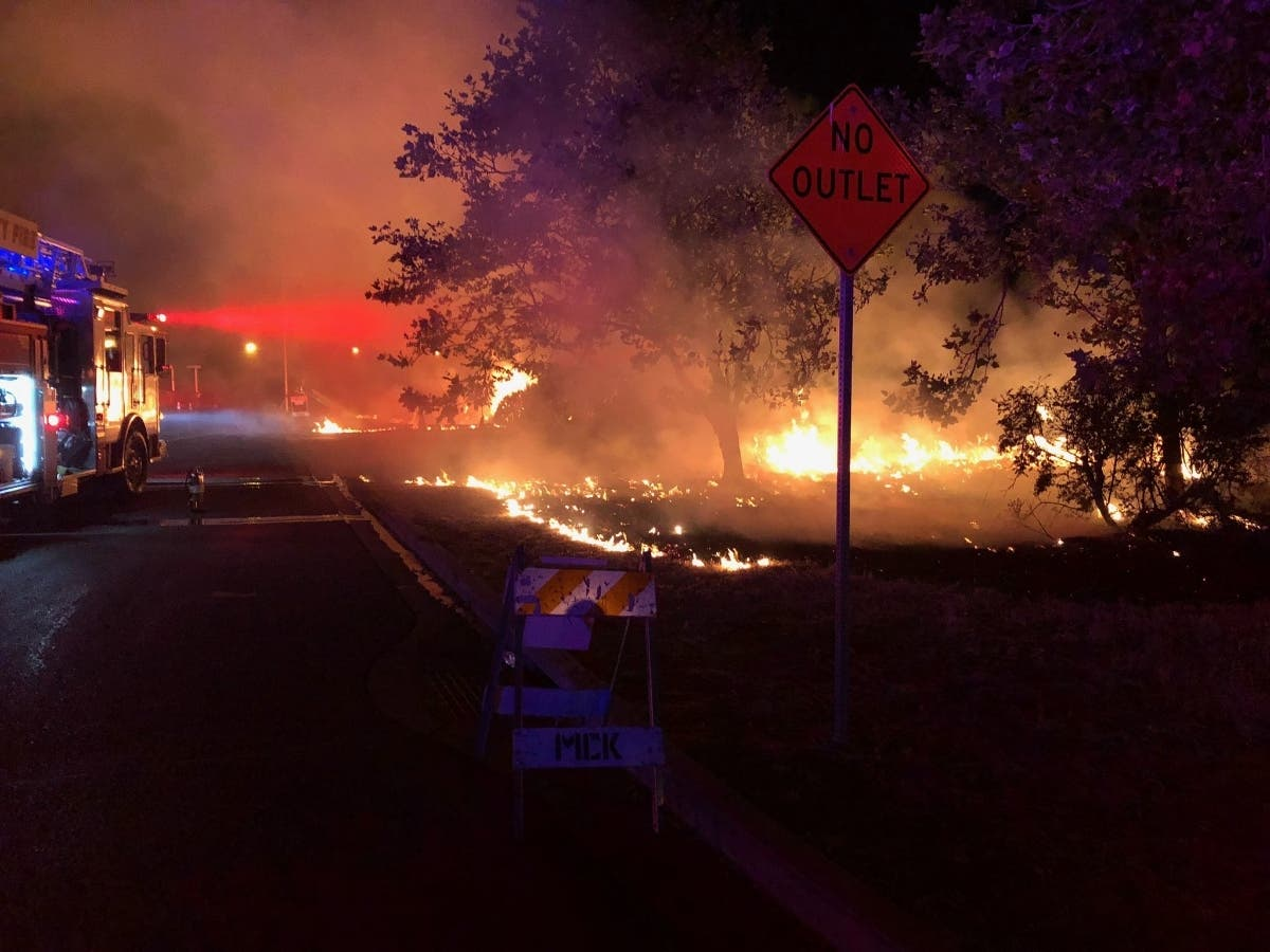 Fireworks Cause Night Of Mayhem For Bay Area Firefighters