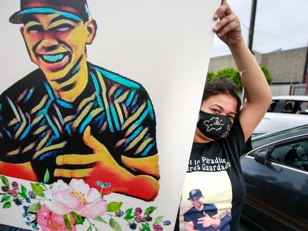 Paradise Gardena+Halloween 2020 More Protests In LA County Saturday Despite Heat, Virus Surge