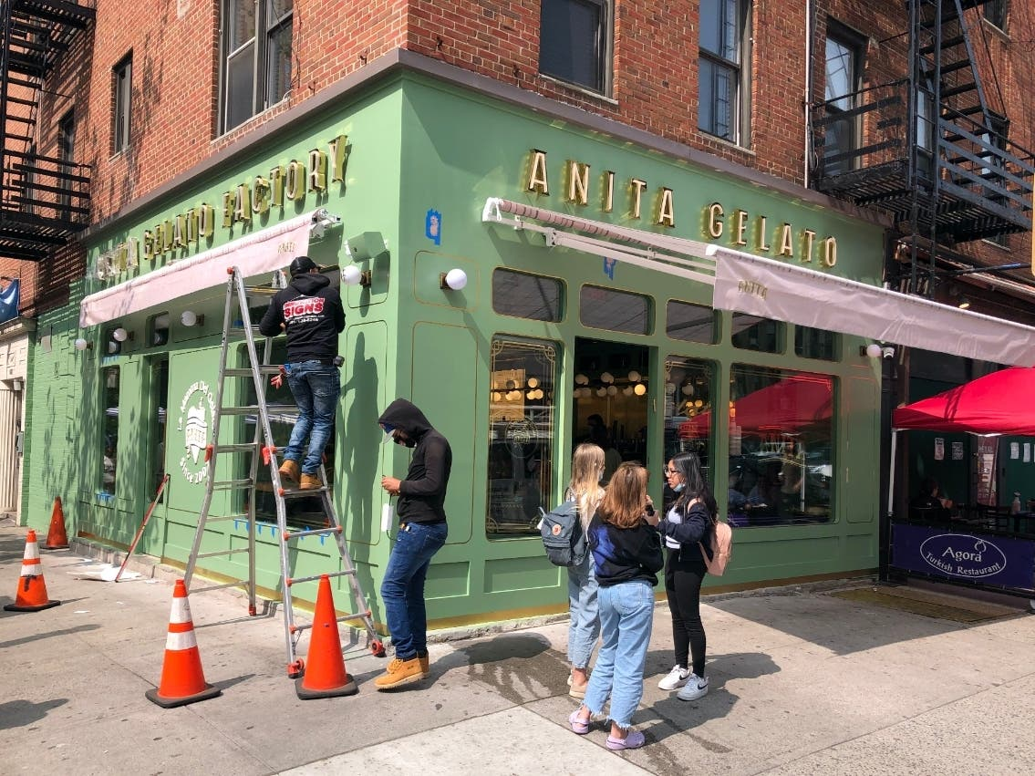 Anita Gelato Serves Up Sweet Scoops In Glitzy New UES Location