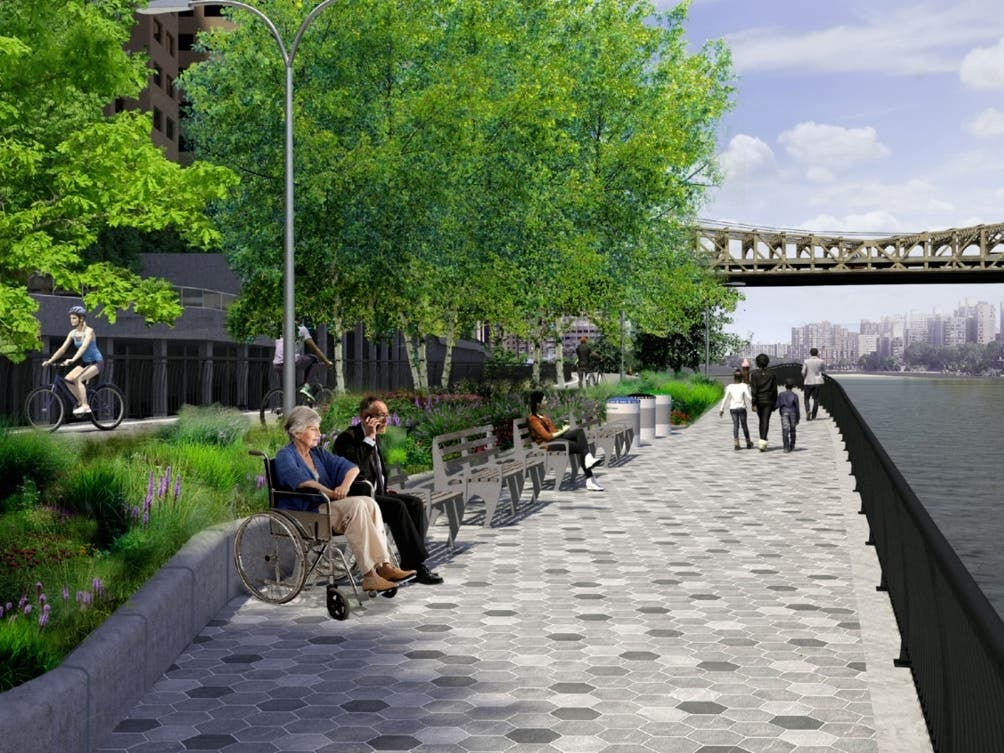 Work Set To Resume On East River Esplanade Extension