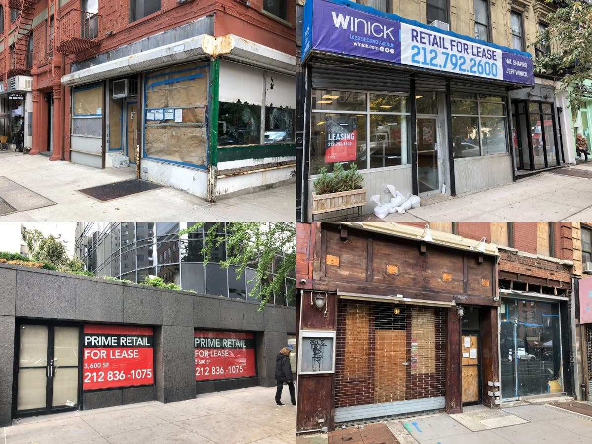 Vacancy Crisis: Empty Storefronts Blanket Upper East Side   Upper East  Side, NY Patch