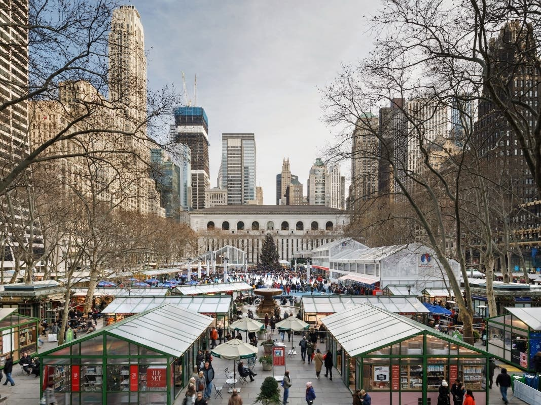 Bryant Park Winter Village Returns For 2020