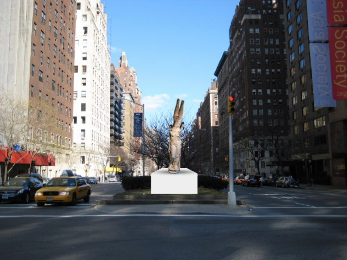 patch.com: Sculpture By Chinese Artist Coming To Park Avenue Median