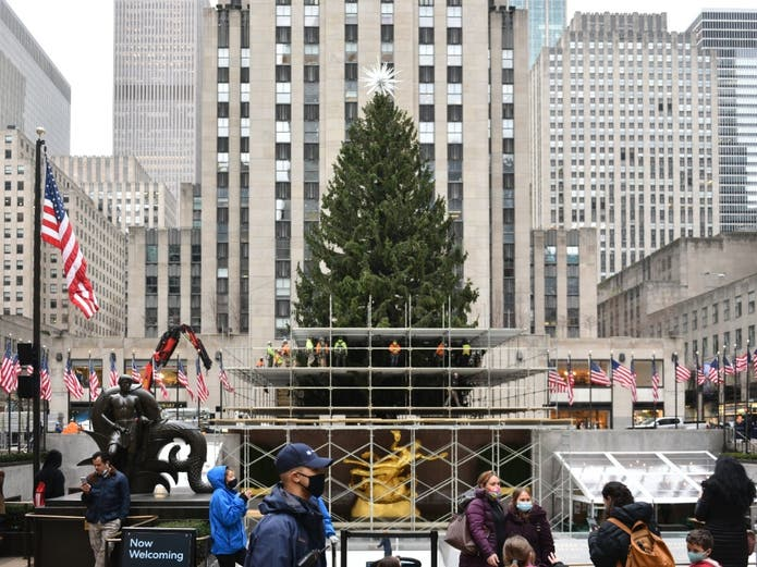 How To View The Rockefeller Center Christmas Tree This Year | Midtown, NY Patch