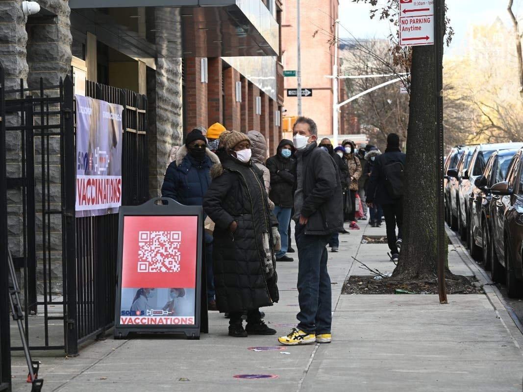 New Vaccination Sites Open At Harlem Church, NYCHA Complex