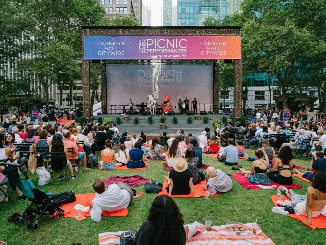 Catch Free Jazz, Classical & More At Bryant Park This Month