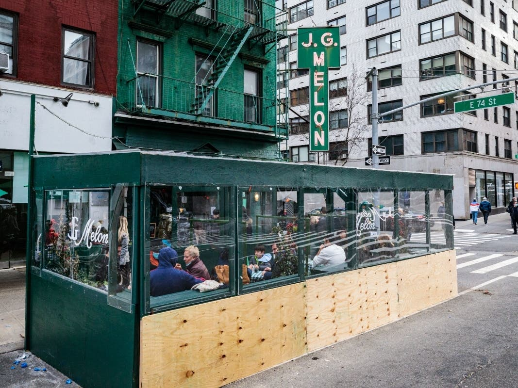 Upper East Side Board Wants Your Thoughts On Outdoor Restaurants
