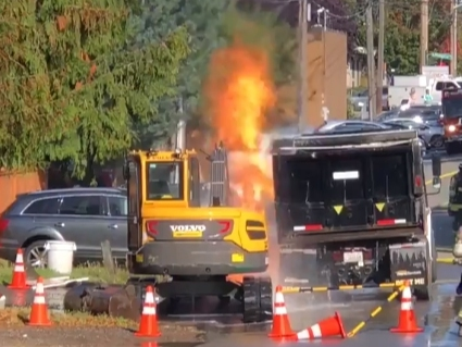 Two PSE Workers Injured As Gas Leak Ignites In Seattle