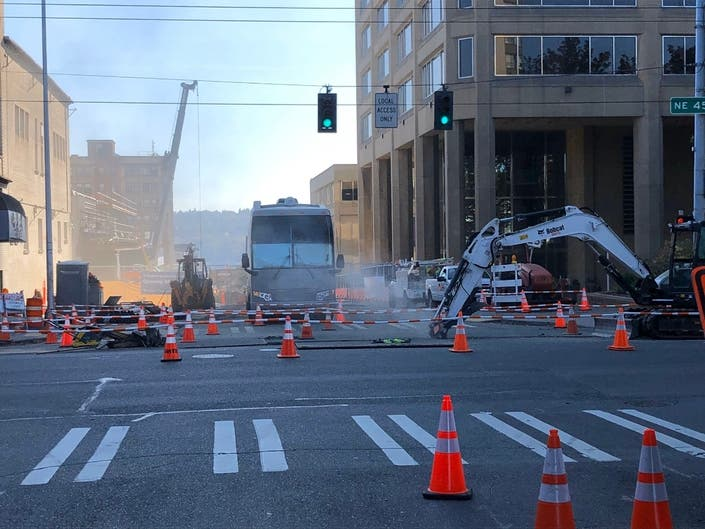 Gas Leak Near Seattle Construction Site Prompts Evacuations
